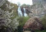 آبشار دوقلو شیر پلا