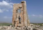 مقبره کمبوجیه - برج سنگی - زندان سلیمان پاسارگاد