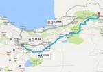 فاصله تهران تا بجنورد - تهران به بجنورد - تهران بجنورد - مسافت تهران تا بجنورد - مسیر بجنورد به تهران