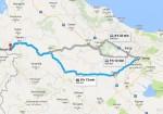 فاصله تهران تا بانه - تهران بانه - مسیر تهران به بانه - تهران تا بانه - مسافت تهران تا بانه - جاده بانه